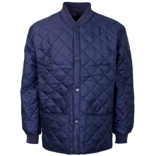 Supertouch Navy Quilted Shell Jacket